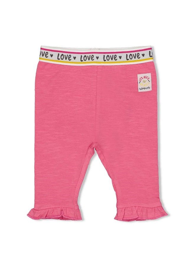 Legging streep - Little Thing Called Love - Roze