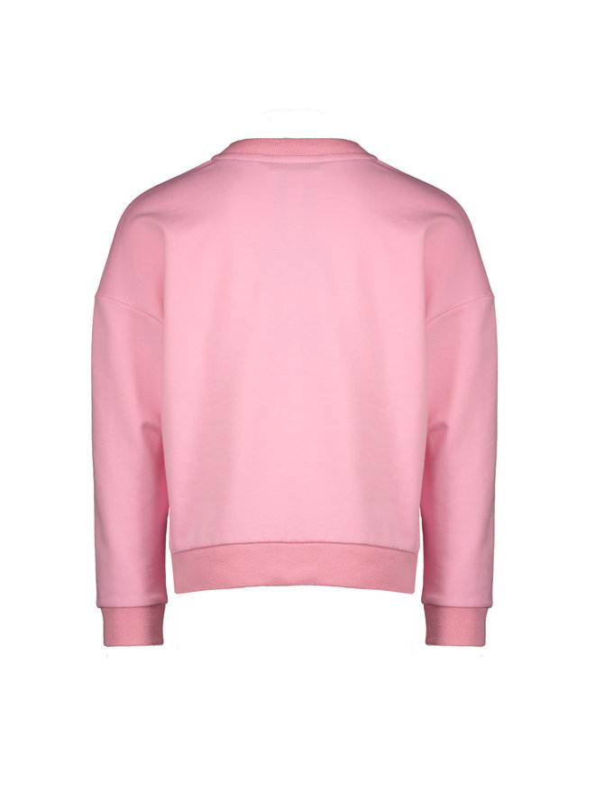 Kessa Drop Shoulder Long Sleeve With Nonolulu - Loving Pink