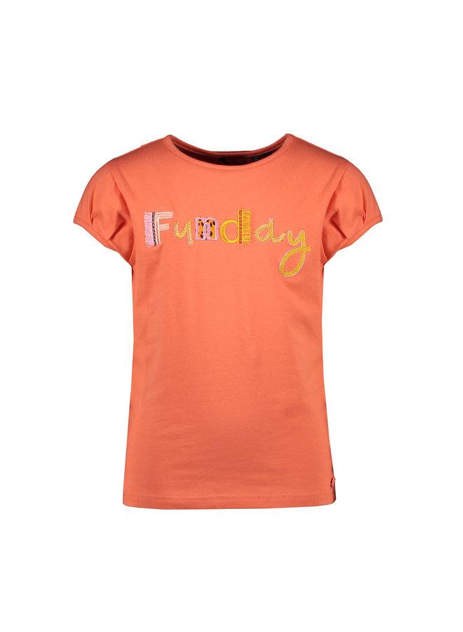 Kamsib ss T-shirt Funday Embroidery - Crayfish