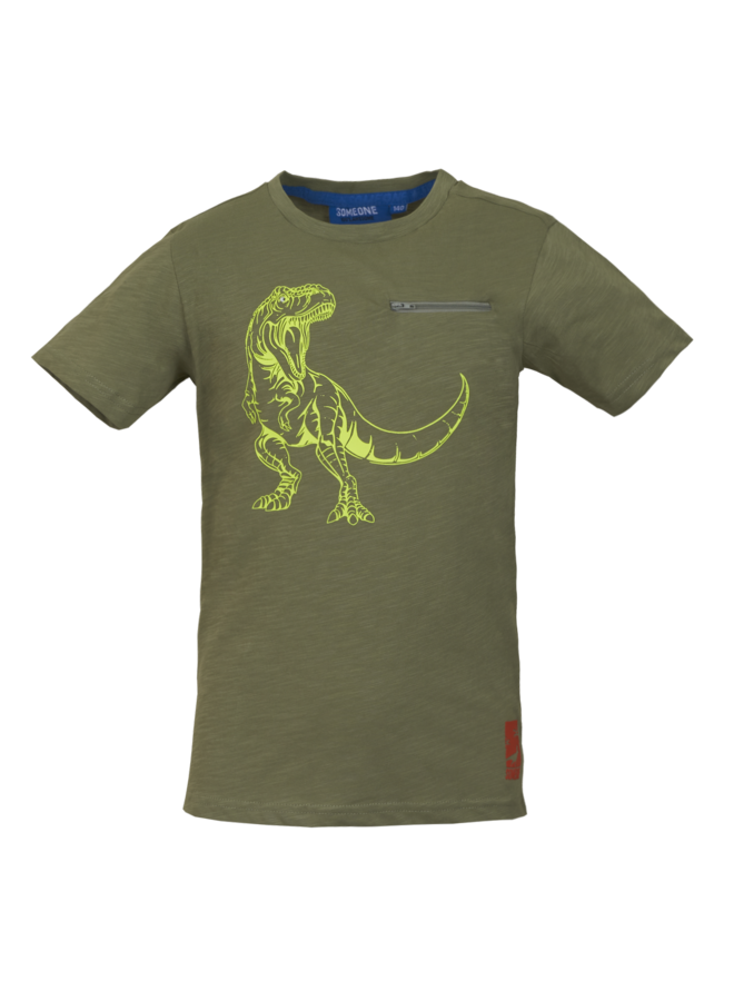 Dinos - T-shirt - Light Khaki