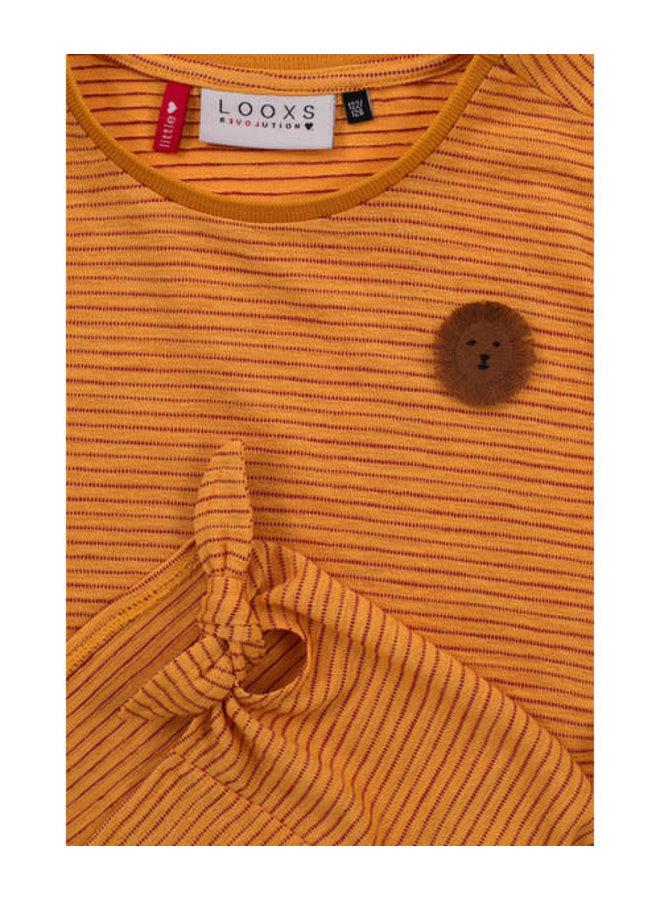 T-shirt mango kleur