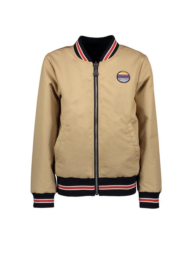 Zomerjas Sonny Reversible Jacket - Gray Sand