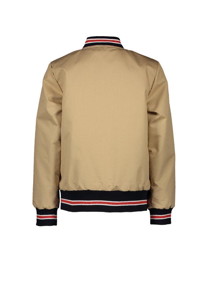 Sonny Reversible Jacket - Gray Sand