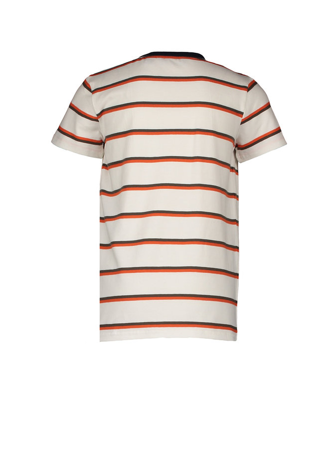 Teddy T-shirt Short Sleeves AOP - Snow White