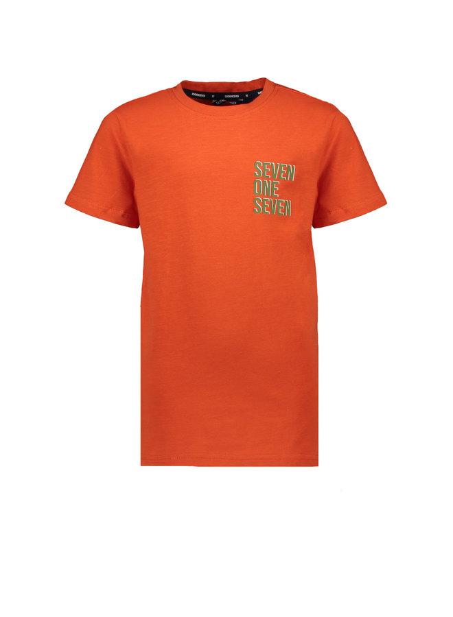 Teddy T-shirt Short Sleeves Slub - Fiesta