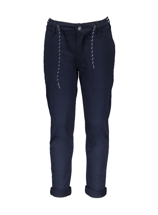 Philly Trouser Fancy Waistband - Navy Blazer