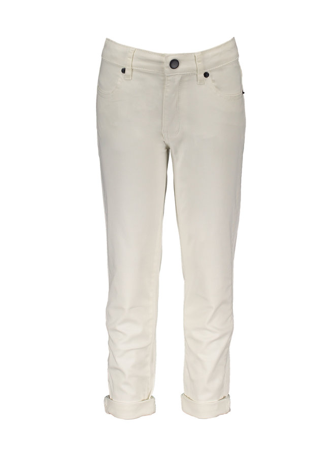 Parker 5 Pocket Jeans - Snow White