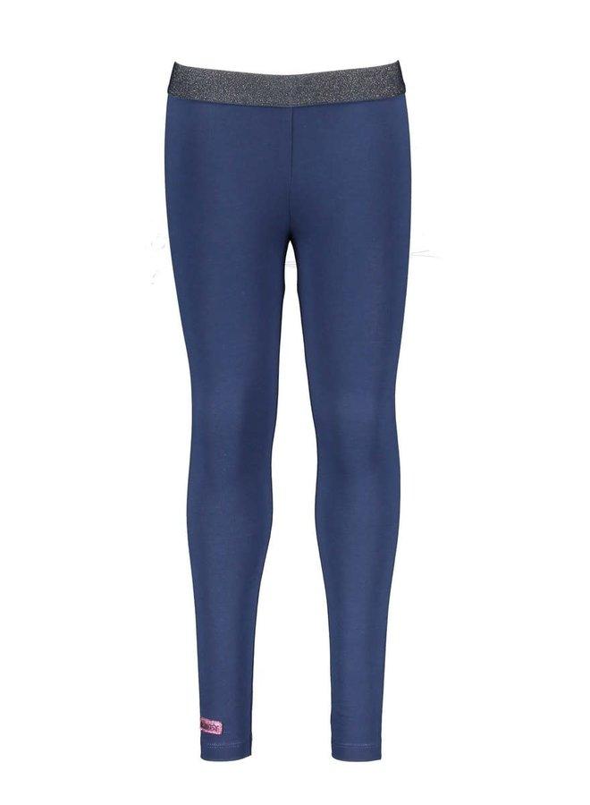 Girls - Plain Legging - Space Blue