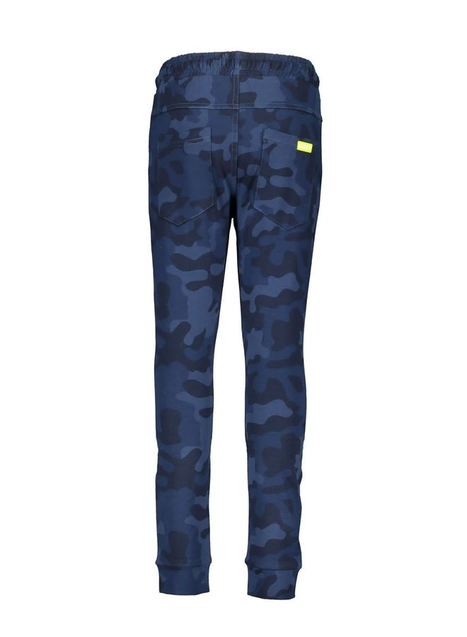 Boys - AOP Camo Sweat Pants - Space Blue Camo