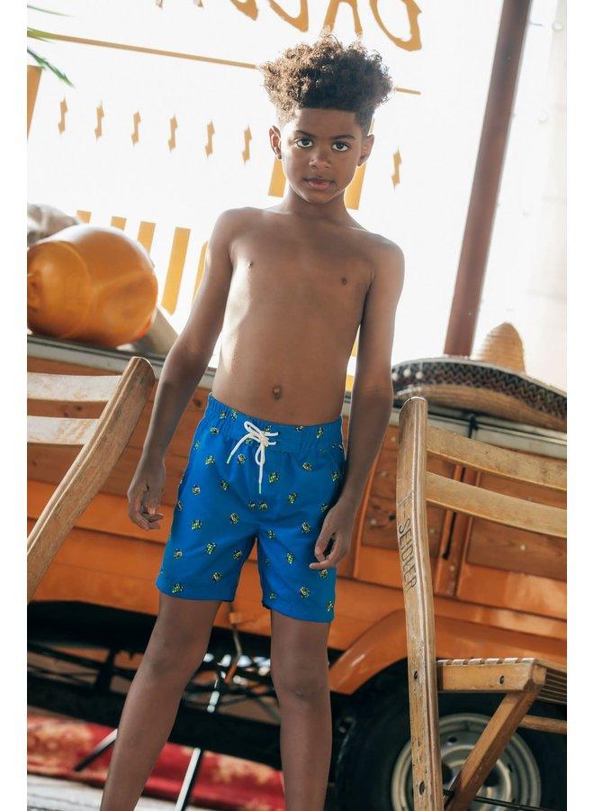 Boys - Swim Short with OA - Electric Blue
