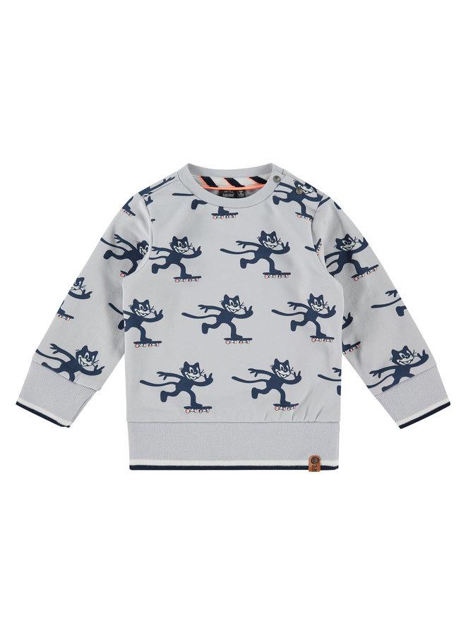 Boys Sweatshirt - Light Grey