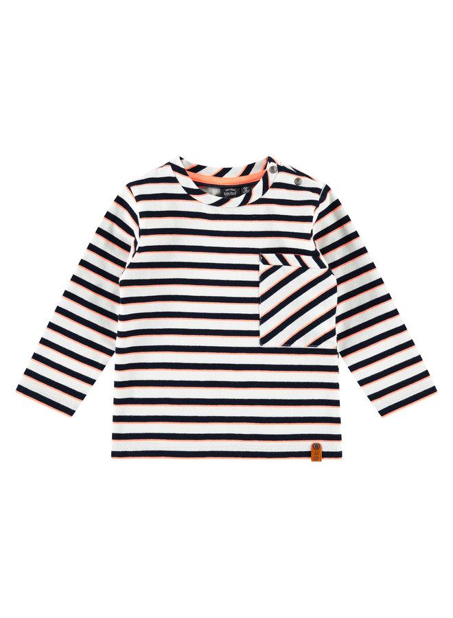 Boys T-Shirt Long Sleeve - White