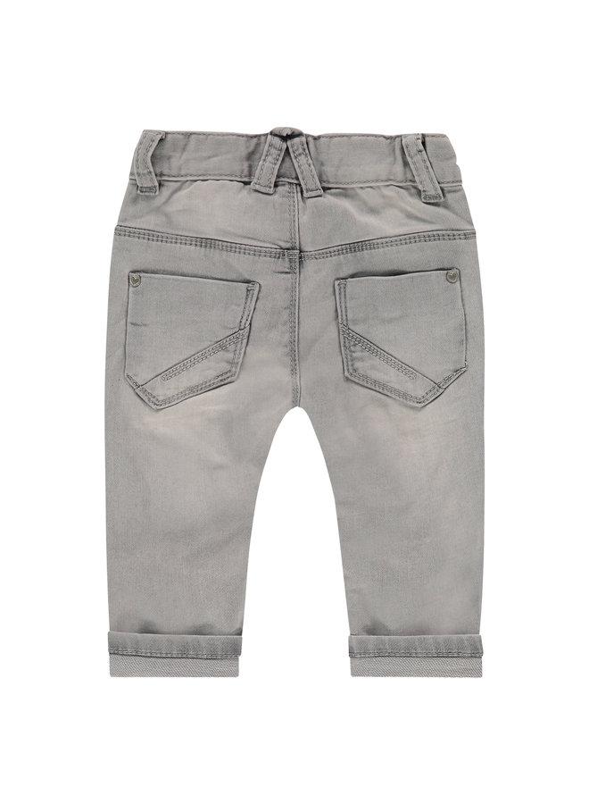 Girls Jogg Jeans - Light Grey Denim