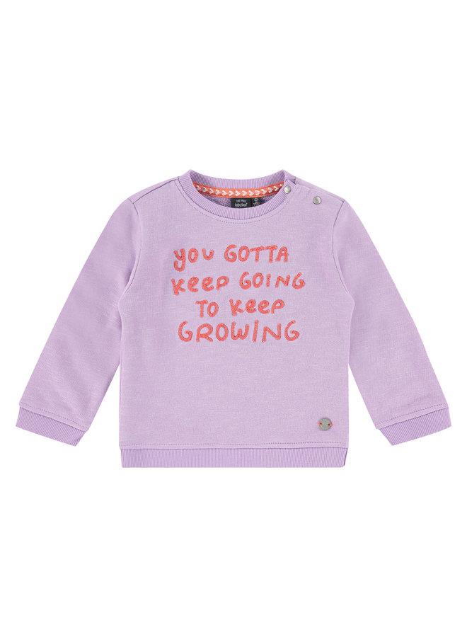 Girls Sweatshirt - Lilac