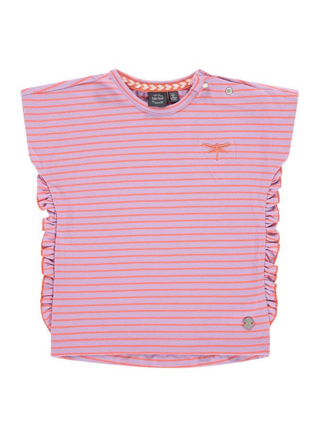 Girls T-Shirt Short Sleeve - Lilac