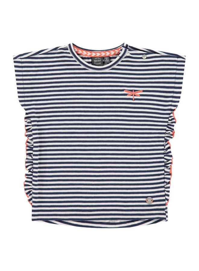 Girls T-Shirt Short Sleeve - Marine
