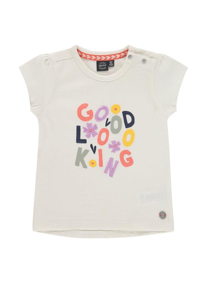 Girls T-Shirt Short Sleeve - Creme