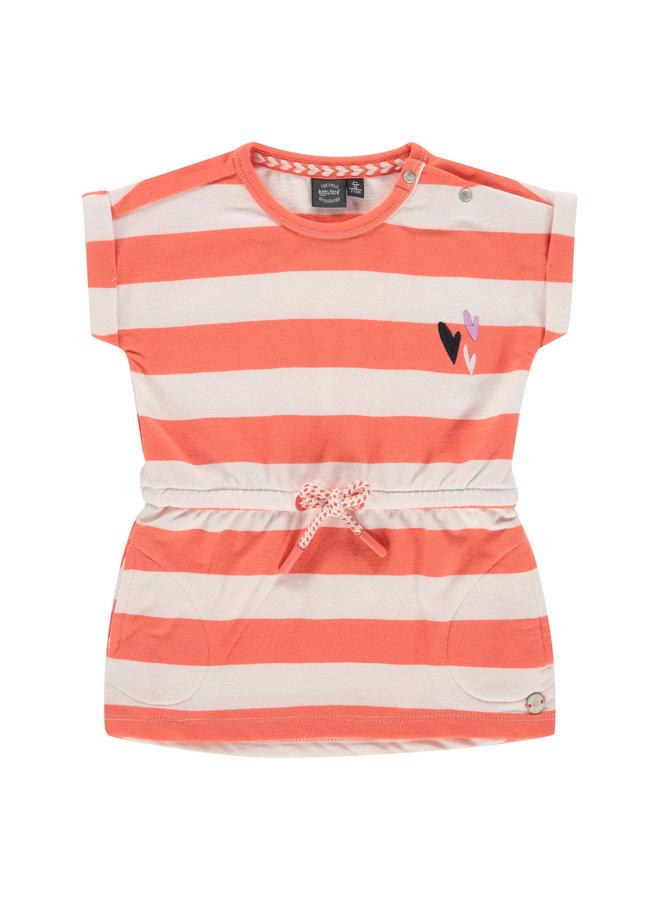 Girls Dress - Coral