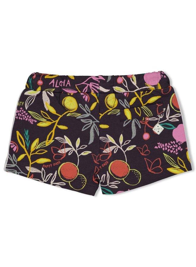 Short AOP - Tutti Frutti - Antraciet
