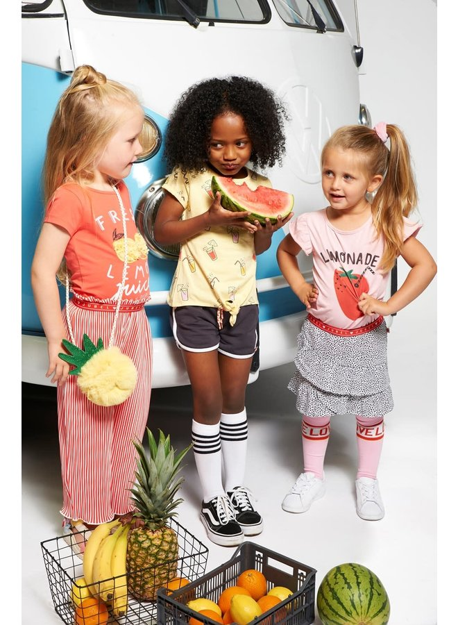 Culotte plissé - Tutti Frutti - Koraal