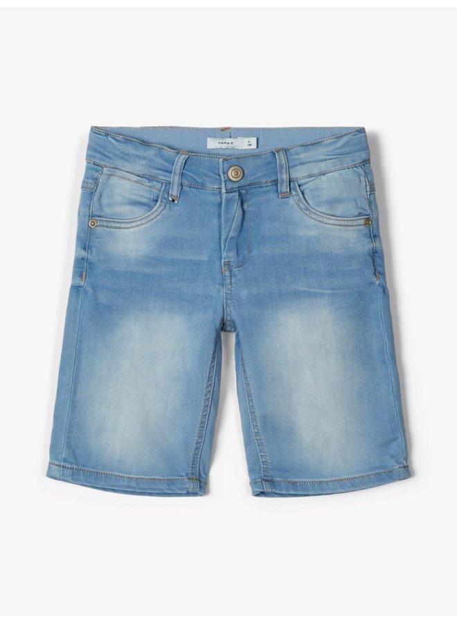 Sofus - Long Short - Light Blue Denim