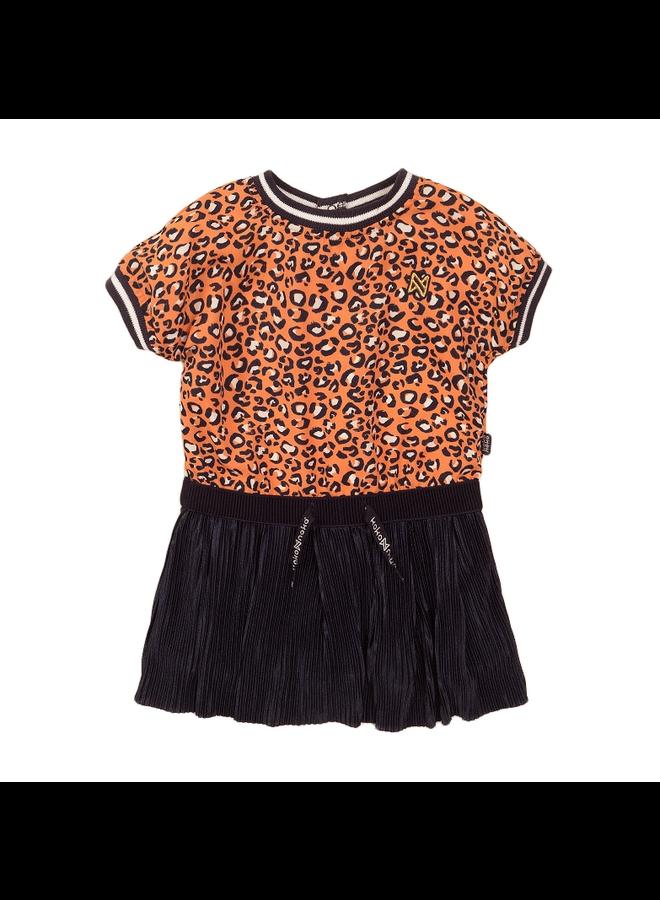 Dress ss - Navy & Orange SS21