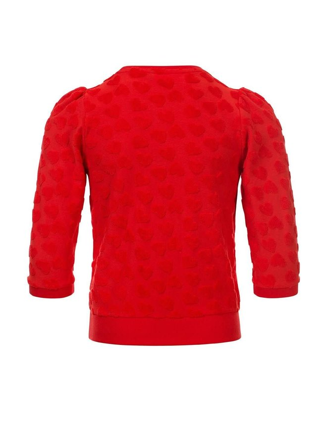 Sweater 3/4 - Red Apple