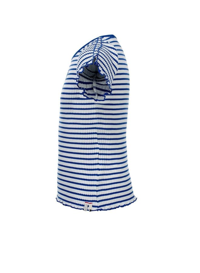 T-shirt S. - Kobalt Stripe