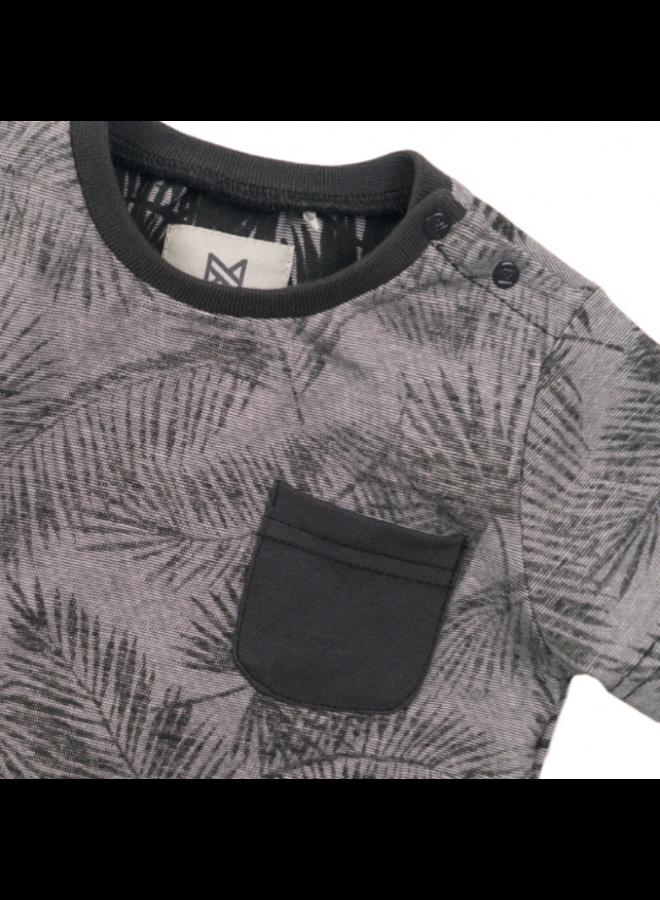 Boys T-shirt ss - Dark Grey SS21