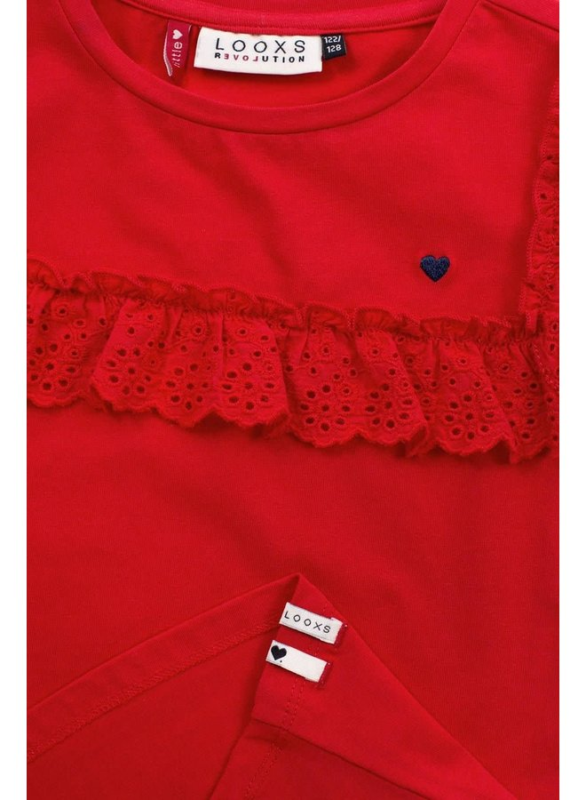 T-shirt S. - Red Apple