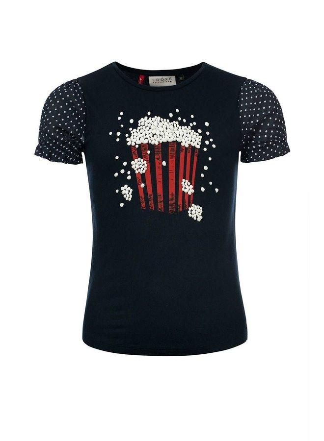 T-shirt - Indigo Blue