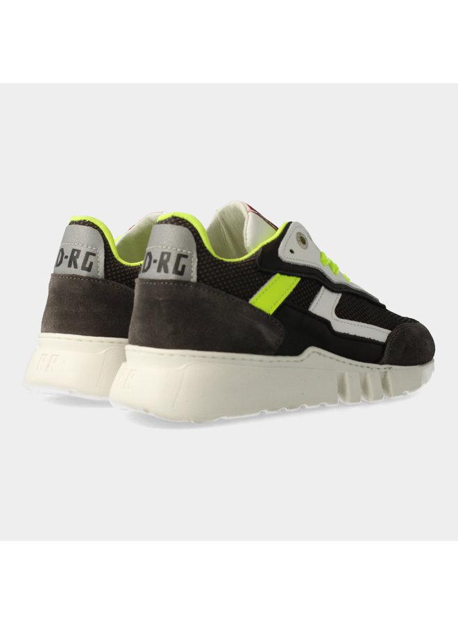 Boys Low Cut Sneaker Laces - Grey Combi