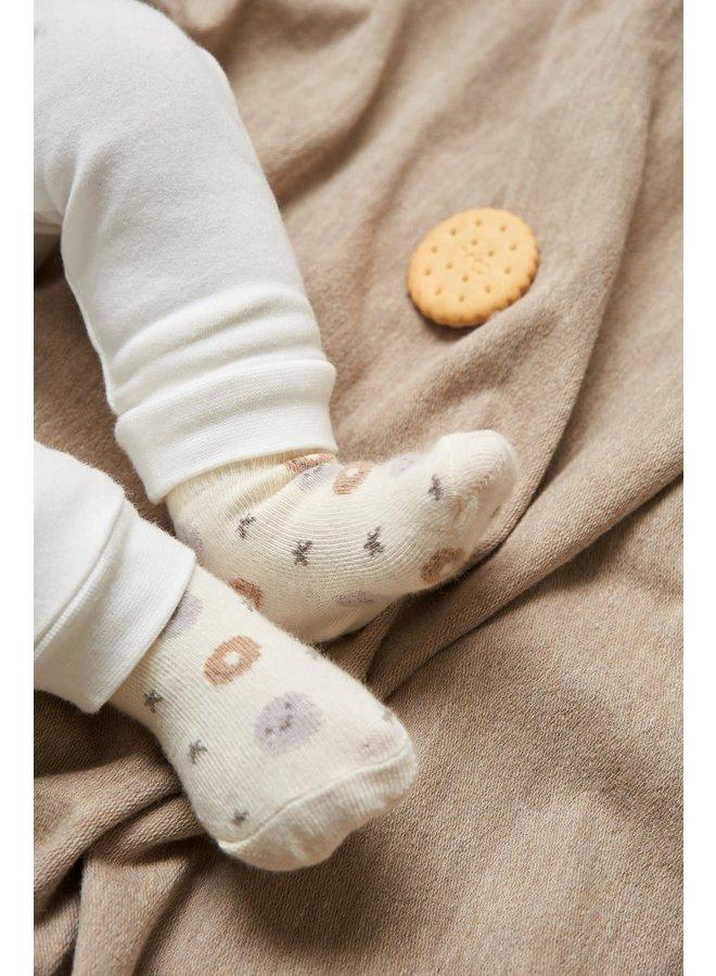 Sok - Mini Cookie - Offwhite