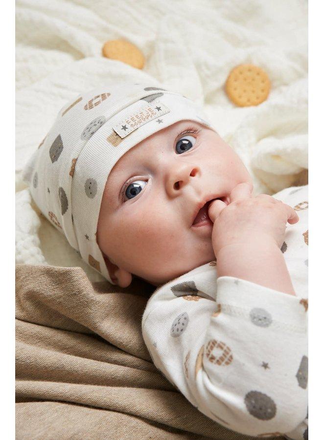Longsleeve AOP - Mini Cookie - Offwhite
