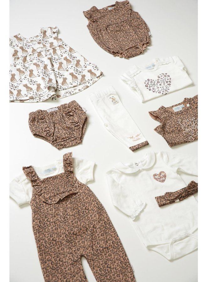 Romper - Panther Cutie - Offwhite