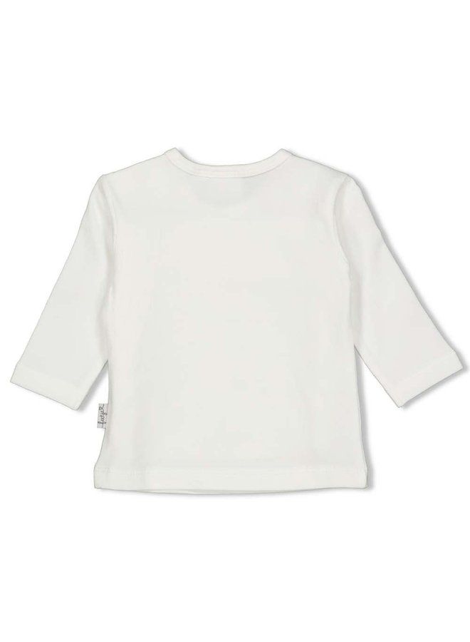Longsleeve - Panther Cutie - Offwhite