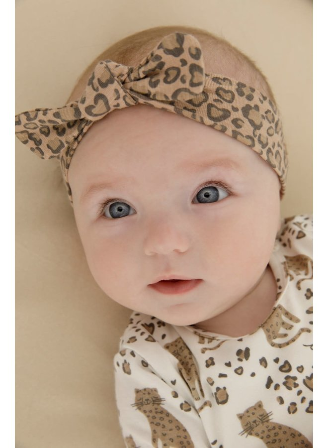 Longsleeve AOP - Panther Cutie - Offwhite