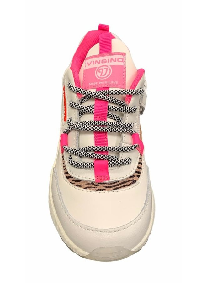 Marta - Leather/Synthetic - Multicolor White