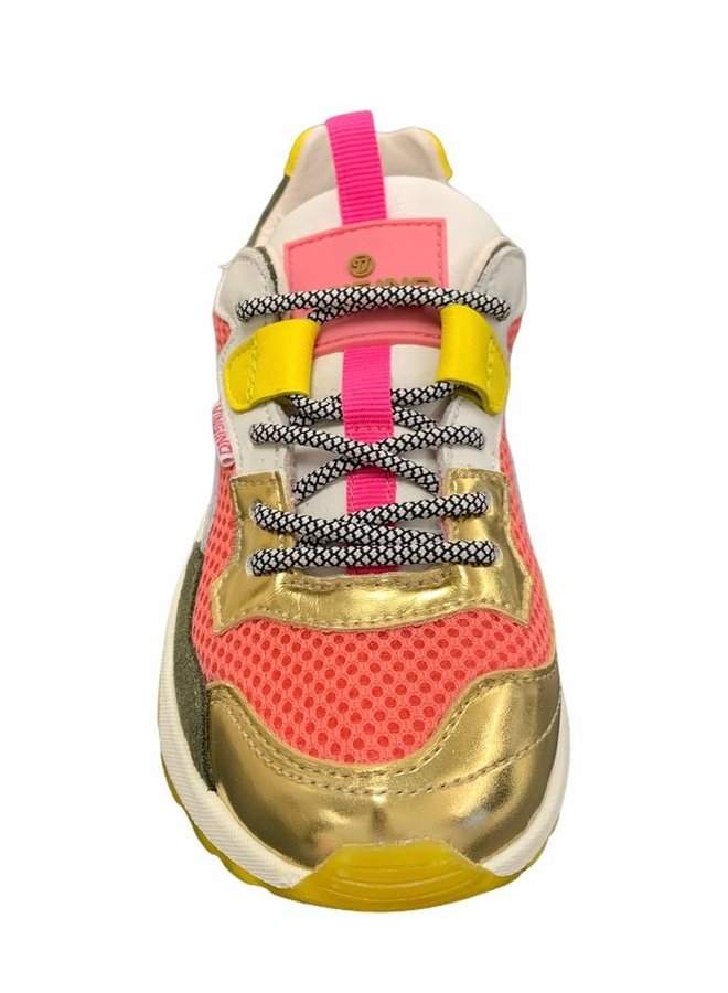 Mila - Leather/Synthetic - Multicolor Pink