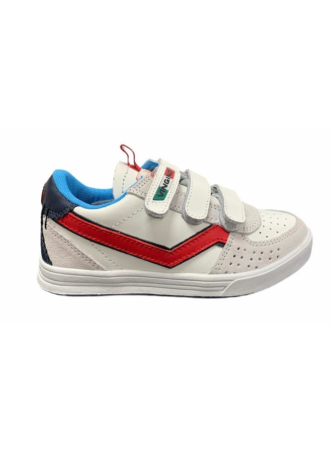 Guus Velcro - Leather - Offwhite