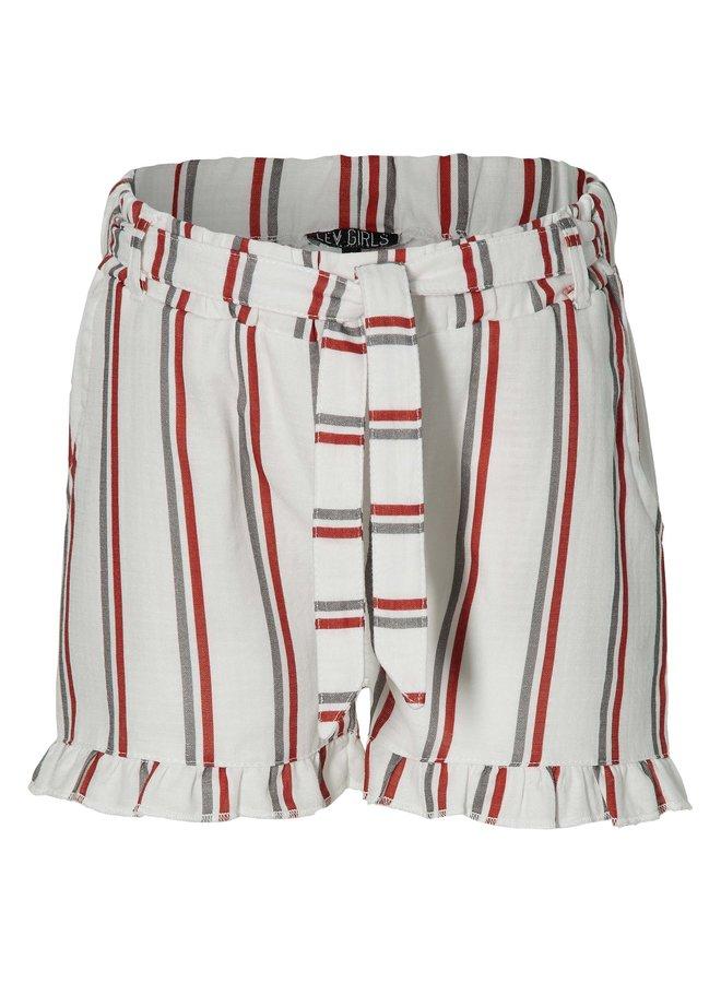 Mirei - Shorts - White Stripe