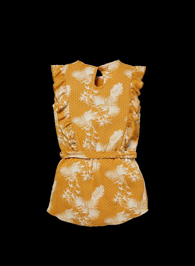 Neele - Dress - Mustard Leaves