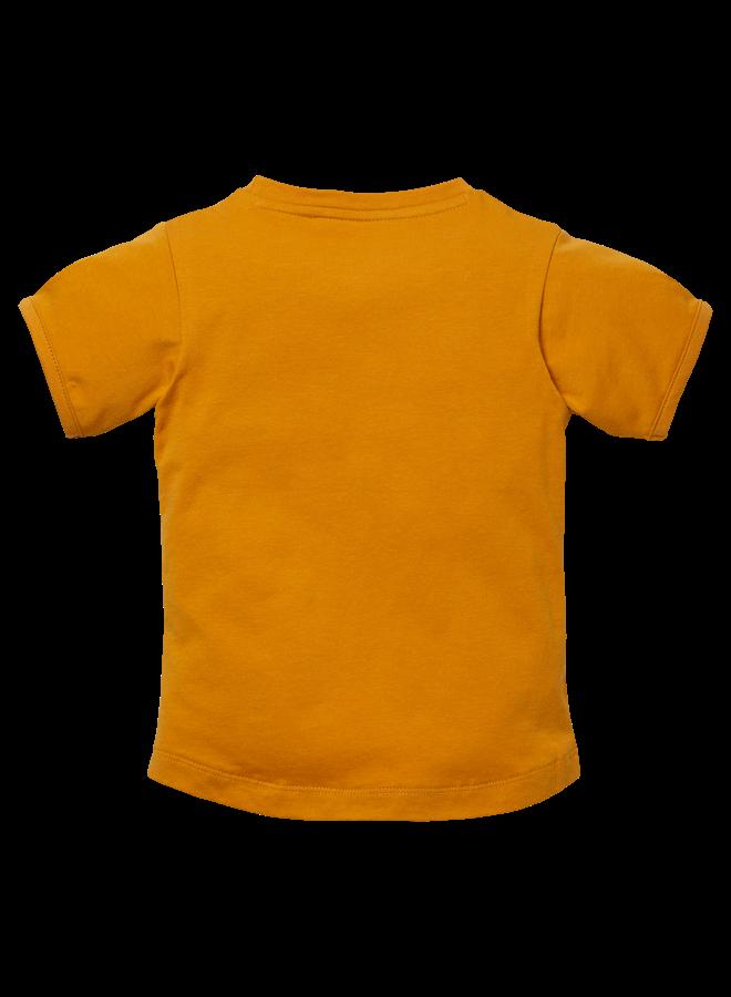Nicola - Shortsleeve - Mustard