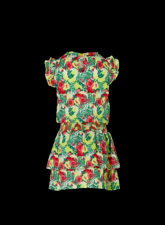 Farelle - Dress - Multi Color Flower