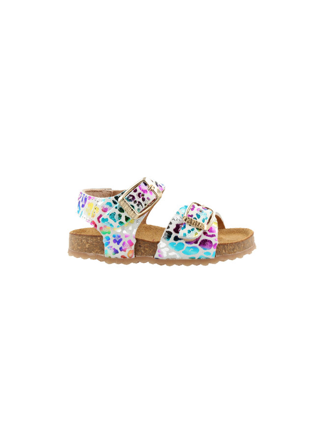 Girls - Sandal Multicolor - White Fantasy