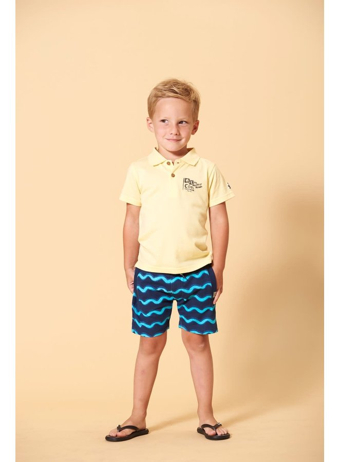 Polo - Smile & Wave - Geel