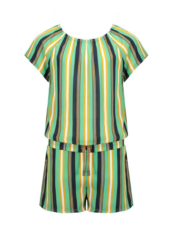 Sarah - Jumpsuit stripe AOP - Copenhagen
