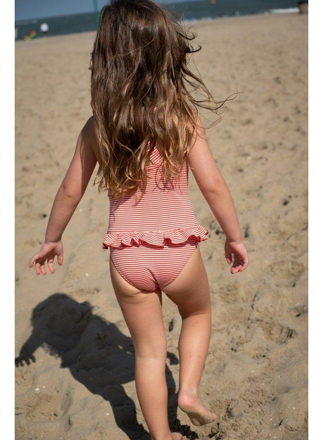 Swimsuit - Red Stripe