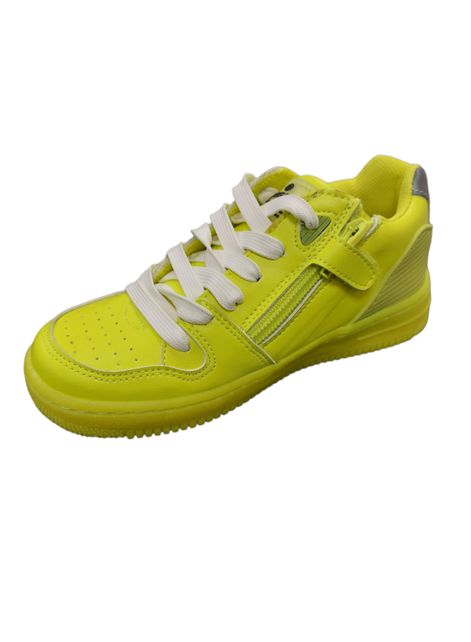Alessio Low Synthetic - Fresh Neon Yellow