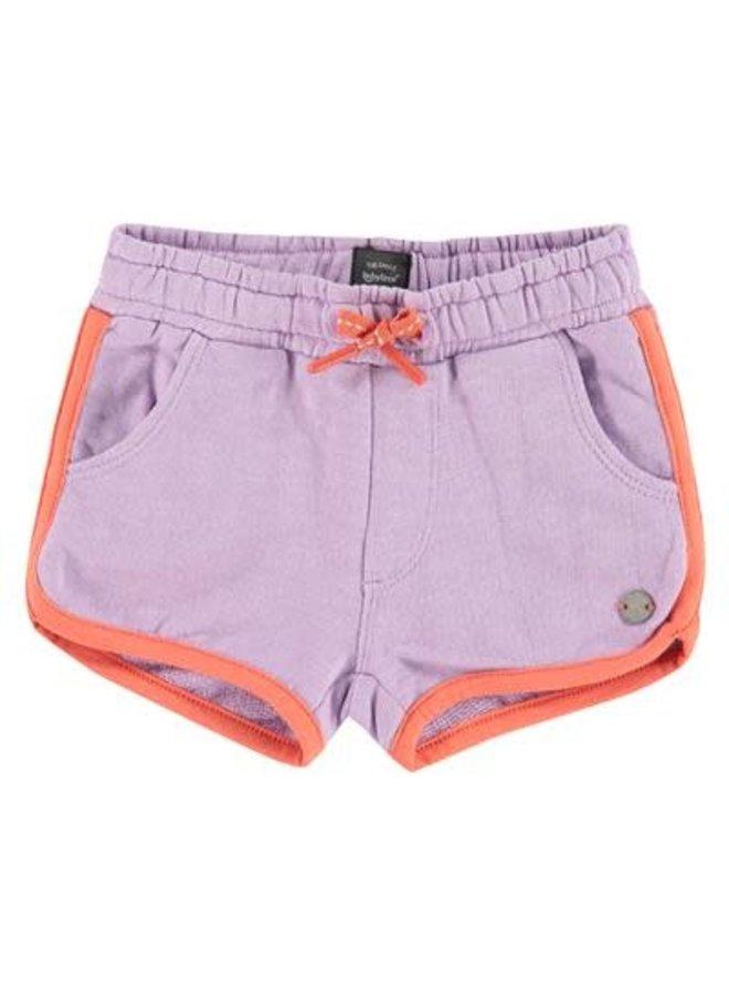 Girls - Sweat Short - Lilac